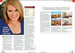 Wendy Chamberlain is featured in the cover story with other successful real estate investors.