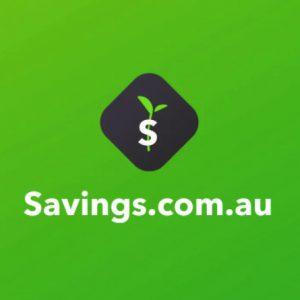 Savings.com.au website logo